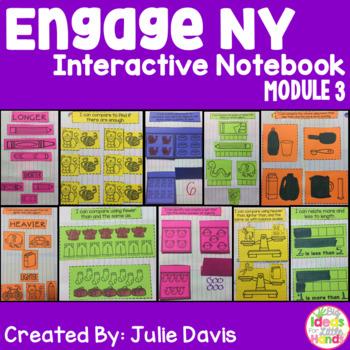 Engage NY Kindergarten Math Module 3 Interactive Notebook