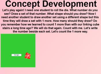 Engage NY Kindergarten Math Module 3 Lesson 23 SmartBoard