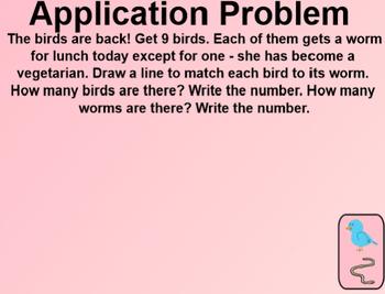 Engage NY Kindergarten Math Module 3 Lesson 24 SmartBoard