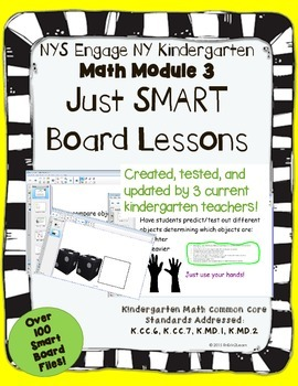Engage NY Kindergarten Math Module 3- Smart Board Lessons
