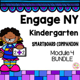 Engage NY Kindergarten Math Module 4 BUNDLE SmartBoard