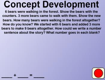 Engage NY Kindergarten Math Module 4 Lesson 31 SmartBoard