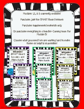 Engage NY Kindergarten Math Module 4- Smart Board Lessons