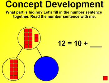 Engage NY Kindergarten Math Module 5 Lesson 21 SmartBoard