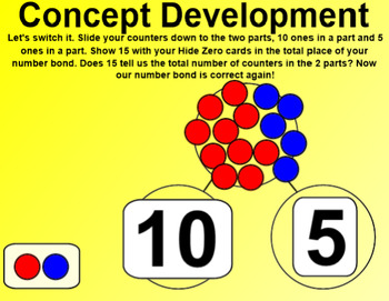 Engage NY Kindergarten Math Module 5 Lesson 7 SmartBoard