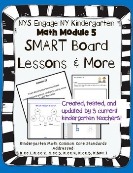 Engage NY Kindergarten Math Module 5 SMART Board and More!