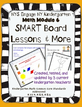 Engage NY Kindergarten Math Module 6 SMART Board and More!