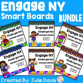 Engage NY Kindergarten Math SmartBoard BUNDLE