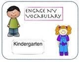 Engage NY Kindergarten Math Vocabulary