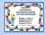 Engage NY Kindergarten Module 1, Topic A lessons (1 - 3) f
