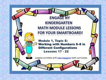 Engage NY Kindergarten Module 1, Topic E lessons (17 - 22)