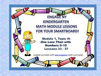 Engage NY Kindergarten Module 1, Topic H lessons 33 - 37 f