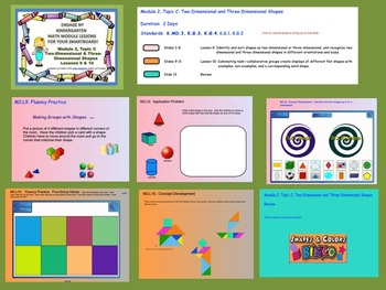Engage NY Kindergarten Module 2, Topic C (Lessons 9 & 10) for your SmartBoard