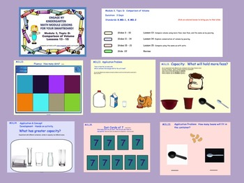 Engage NY Kindergarten Module 3, Topic D (Lessons 13-15) for your SmartBoard