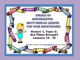 Engage NY Kindergarten Module 3, Topic E (Lessons 16-19) f