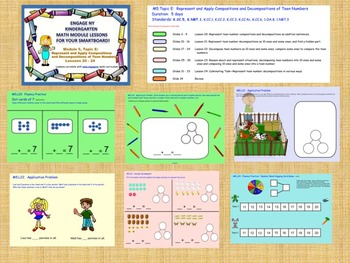 Engage NY Kindergarten Module 5, Topic E (lessons 20 - 24) for your SmartBoard!