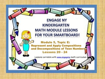 Engage NY Kindergarten Module 5, Topic E (lessons 20 - 24)