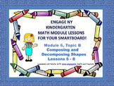 Engage NY Kindergarten Module 6, Topic B (lessons 5 - 8) f
