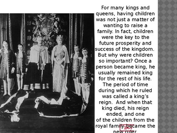Engage NY LA Kindergarten Unit 6 Lesson 2A The Royal Family