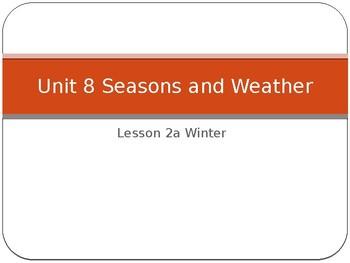 Engage NY LA Kindergarten Unit 8 Lesson 2A Winter