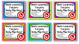 Engage NY Learning Targets Flip Chart BUNDLE