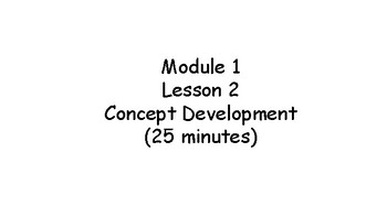 Engage NY Lessons 1-15 (Application and Conceptual Development) for Kinder