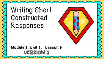 Engage NY M1U1 Lesson 6 VERSION 2 Powerpoint
