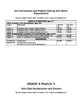 Engage NY MATH 4th Grade Overview-PDF Page numbers