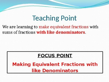Engage NY MATH 5th Grade Module 3 Lesson 2 (PowerPoint)