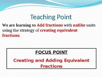 Engage NY MATH 5th Grade Module 3 Lesson 3 (PowerPoint)