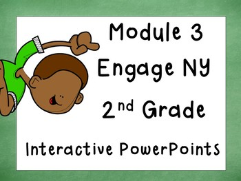 Engage NY Math, 2014 and updated version, Second Grade, Module 3, PowerPoint