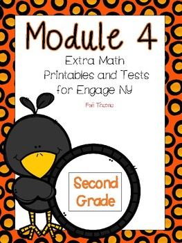 Engage NY Math,  2nd Grade, Module 4, Fun Supplemental Printables