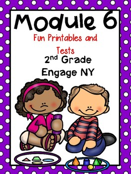 Engage NY Math, 2nd Grade, Module 6, Fun Supplemental Printables