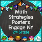 Engage NY Math Eureka Math 2nd Grade Strategy Posters - Colorful!