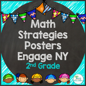 Engage NY Math 2nd Grade Strategy Posters - Colorful!