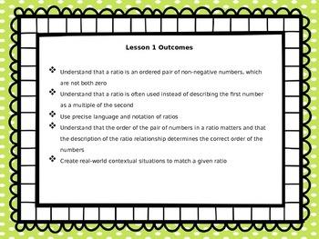 Engage NY Math 6, Module 1, Topic A Lesson 1 FREEBIE