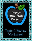 Engage NY Math 6, Module 1, Topic C Review Worksheet
