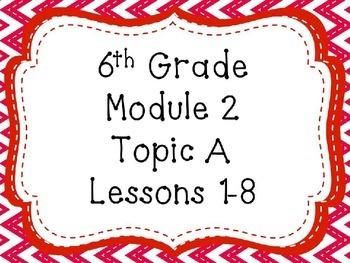 Engage NY Math 6, Module 2 Mega Bundle