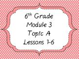 Engage NY Math 6, Module 3 Mega Bundle