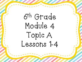 Engage NY Math 6, Module 4 Mega Bundle