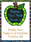 Engage NY Math 6, Module 4 Topics A & B Review