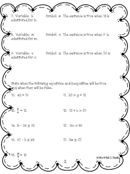 Engage NY Math 6, Module 4 Topics G & H Review