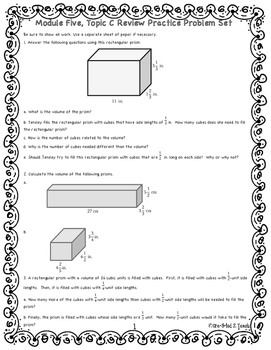 Engage NY Math 6, Module 5 Topic C Review