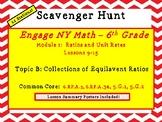Engage NY Math - 6th Grade, Module 1, Topic B- Ratio Scavenger Hunt