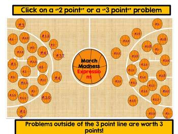 Engage NY Math - 6th Grade, Module 4, Topics A-F, Lessons 1-22 Basketball Game