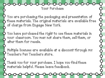 Engage NY Math 7, Module 1, Topic A