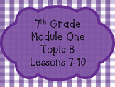 Engage NY Math 7, Module 1, Topic B