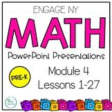 Engage NY Math Eureka Math PowerPoint  PreK Module 4 Lessons 1-27