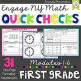 Engage NY Math First Grade