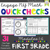 Engage NY Eureka Math First Grade